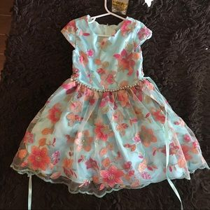 Rare edition floral embroidered dress